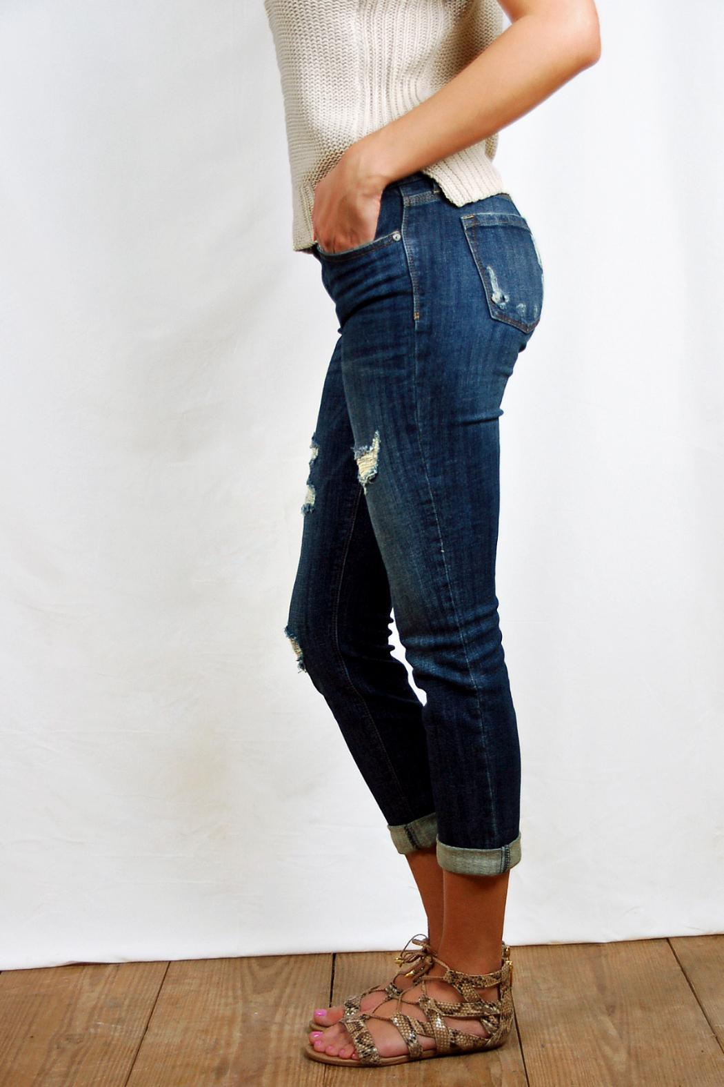 a0510a9044901 Eunina Low-Rise Skinny Jeans from Texas by POE and Arrows — Shoptiques