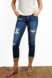 Eunina Low-Rise Skinny Jeans - Product Mini Image