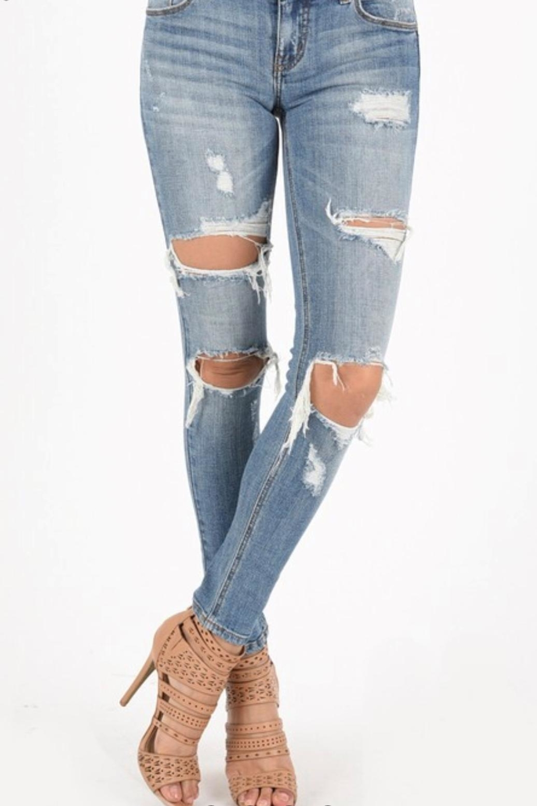 Eunina Low Rise Skinny - Front Cropped Image