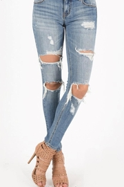 Eunina Low Rise Skinny - Front cropped