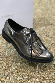 Eureka Mirror Finish Oxford Flat Shoes - Front cropped