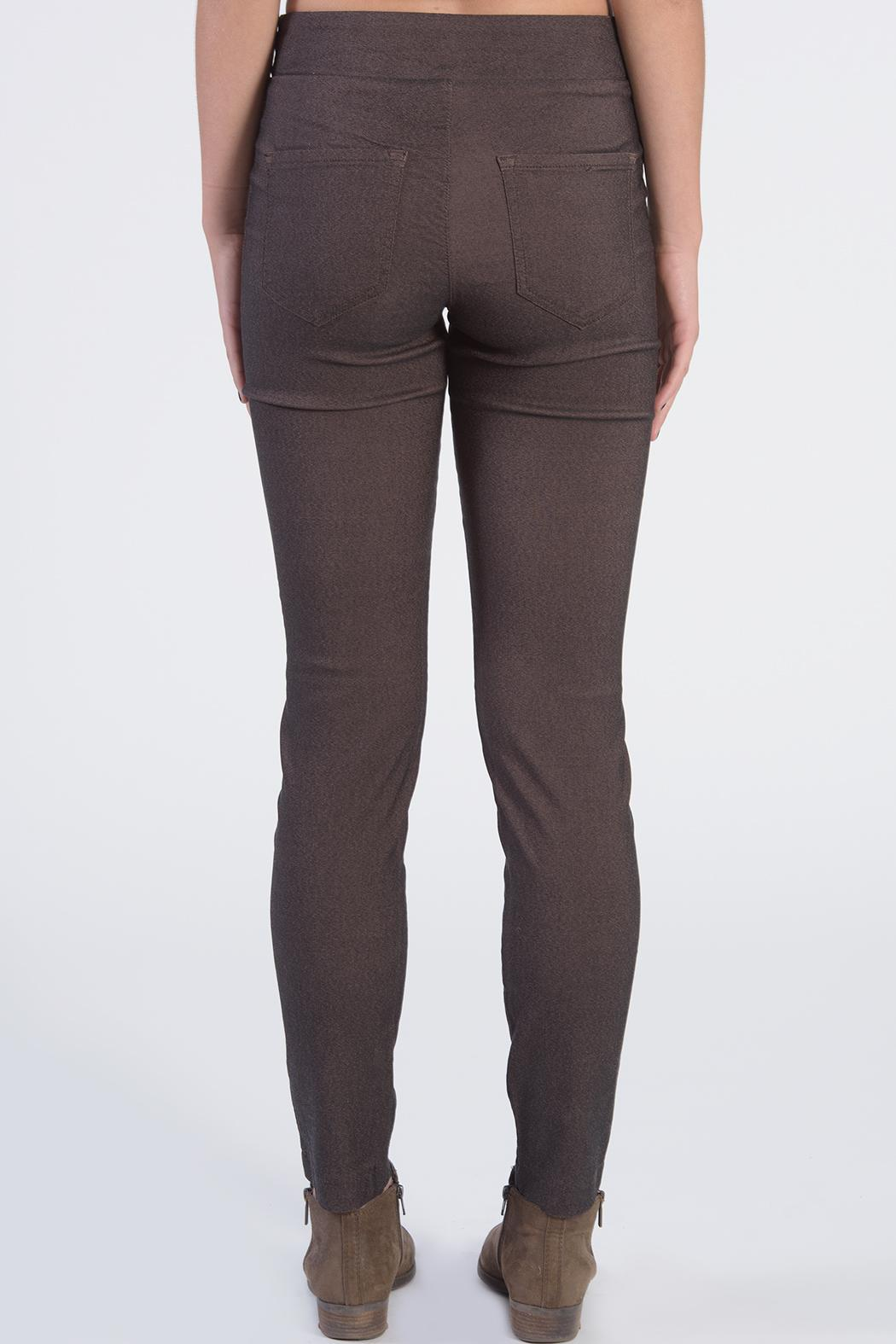 Euro Brown Pants - Front Full Image