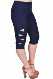 Euro Capri With Bling - Front cropped
