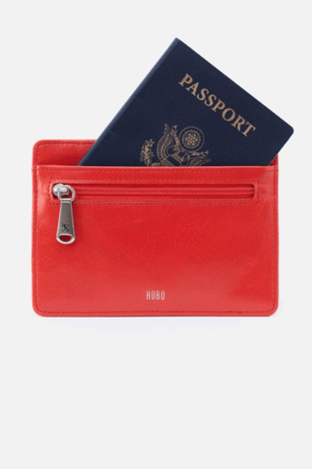 Hobo Euro Slide Rio Leather Credit Card Wallet - Front Full Image