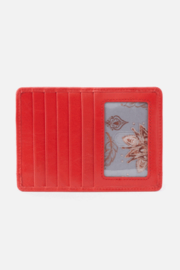 Hobo Euro Slide Rio Leather Credit Card Wallet - Front cropped