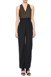 Eva & Lola Color Blocked Jumpsuit - Front cropped