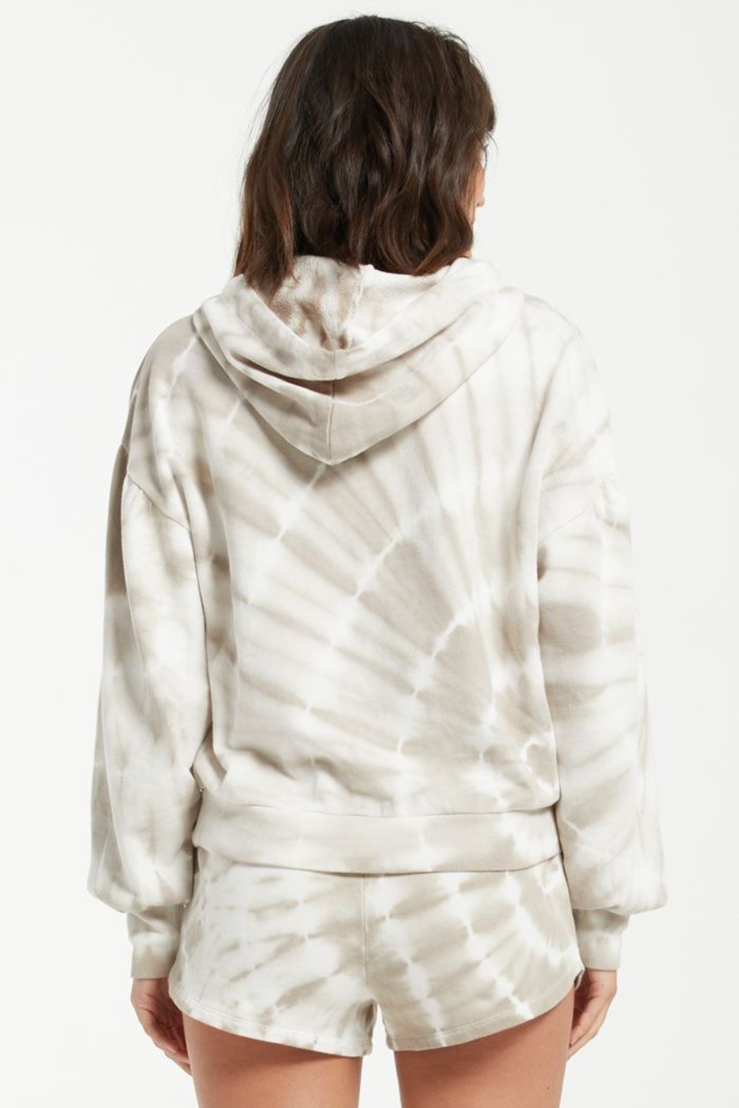 z supply Eva Spiral Tie-Dye Hoodie - Side Cropped Image