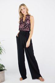 Greylin Eva Wide Leg Pants - Front full body