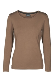 Eva & Claudi Essential Roundneck Top - Product Mini Image