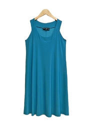 Ellen Parker Jade Teal Dress - Product Mini Image