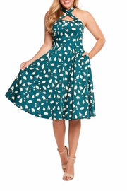 Eva Rose Siamese Kitties Dress - Front cropped