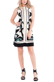 Eva Varro Elegant Floral Print Dress - Product Mini Image