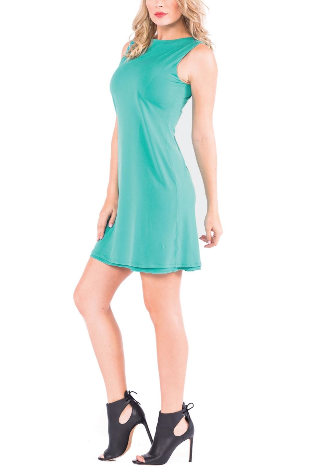 Eva Varro Bateau Mini Dress - Front Full Image
