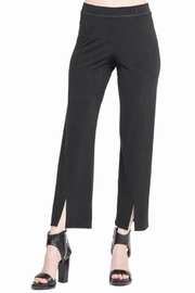 Eva Varro Front-Slit Cropped Pants - Product Mini Image
