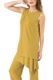 Eva Varro Side Drape Tunic - Front full body