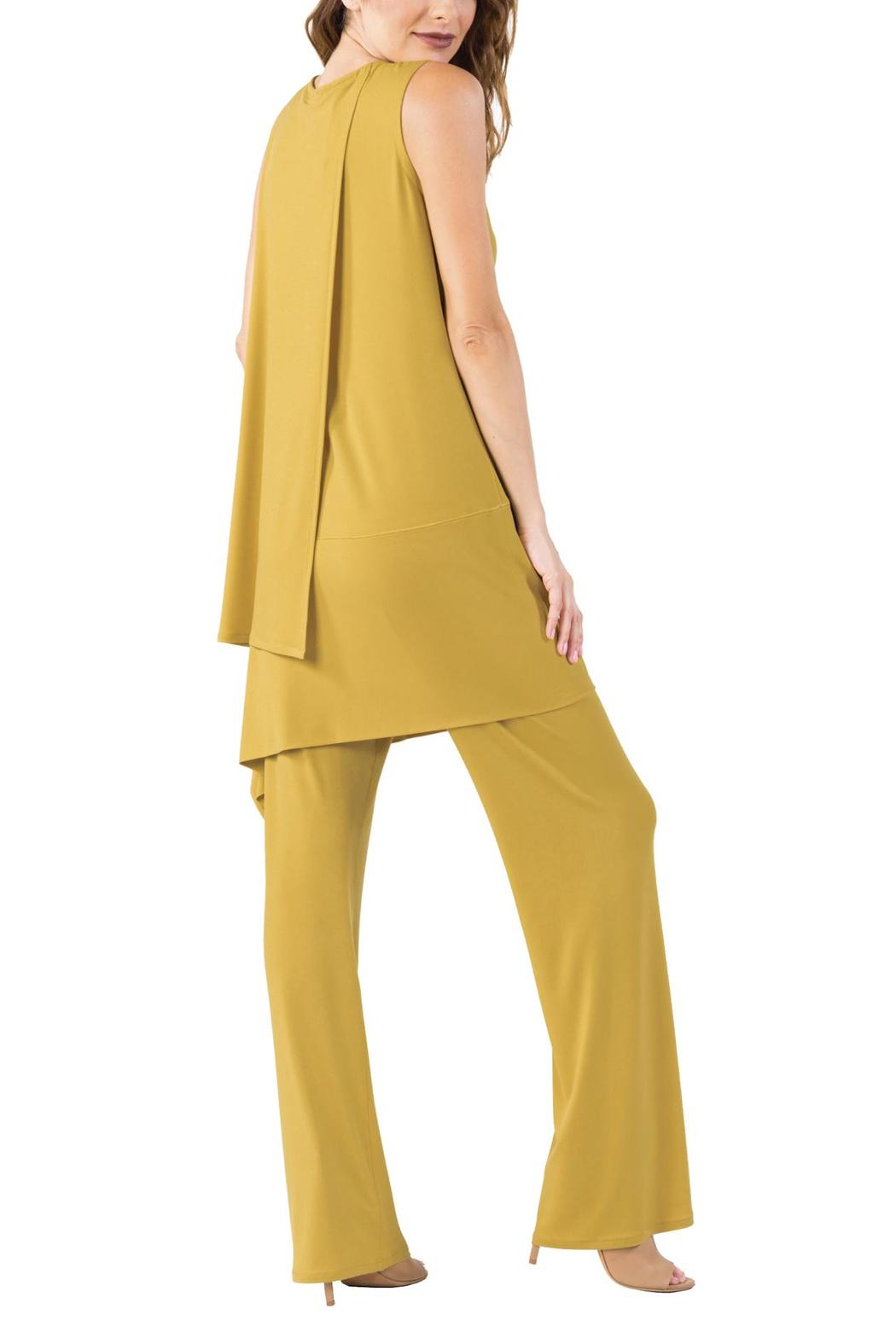 Eva Varro Side Drape Tunic - Side Cropped Image