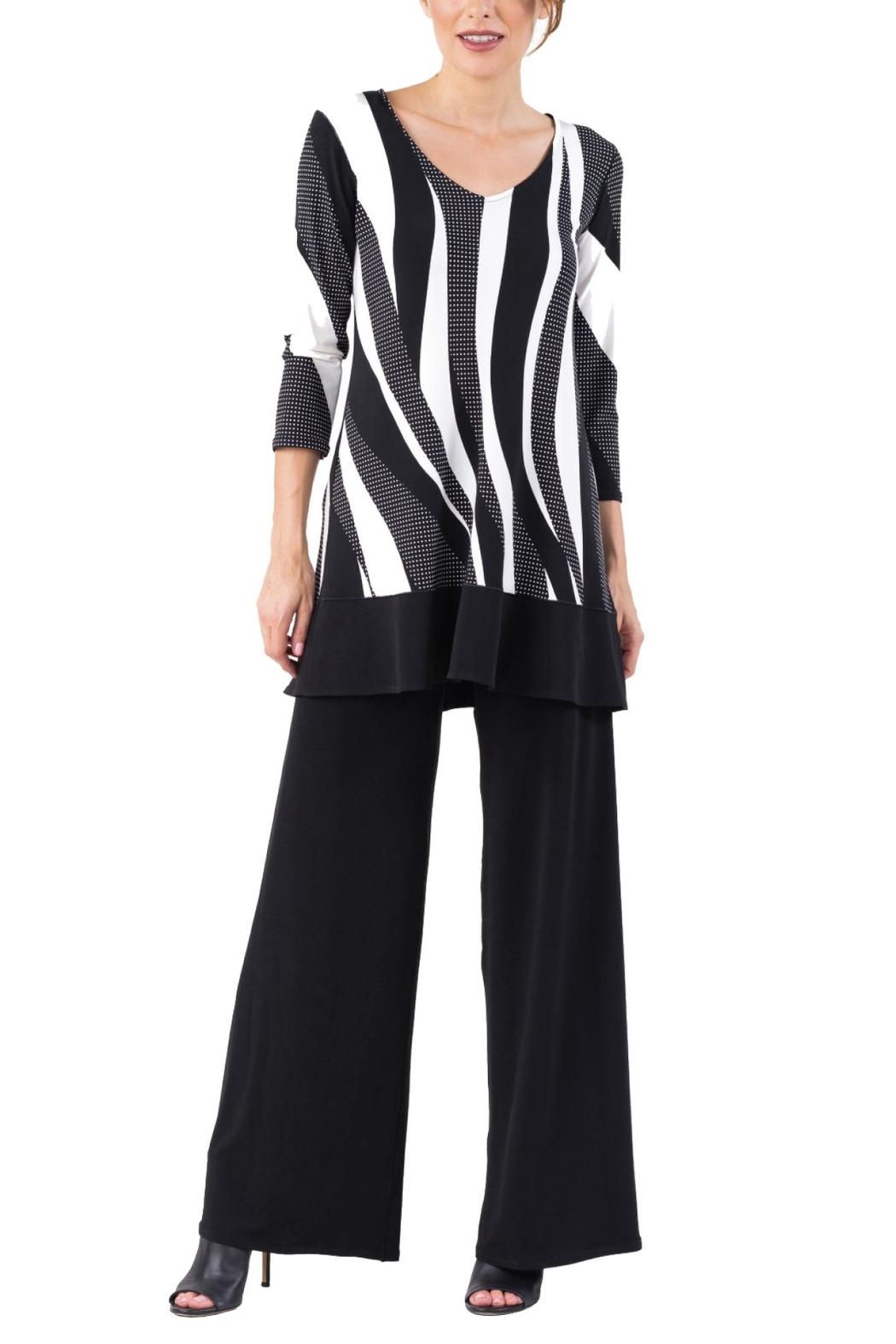 Eva Varro Swing Tunic Top - Front Cropped Image