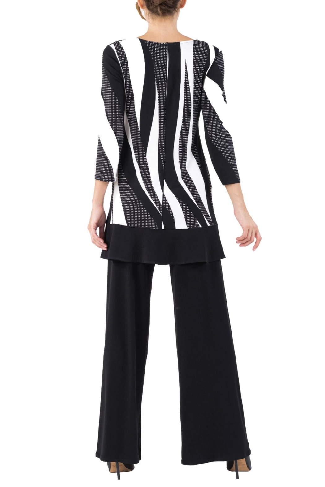 Eva Varro Swing Tunic Top - Side Cropped Image