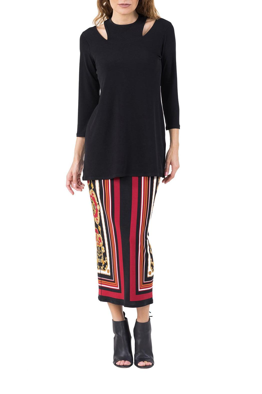 Eva Varro Two Necklines Tunic - Side Cropped Image