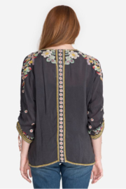 Johnny Was Evangeline Embroidered Top - Front full body