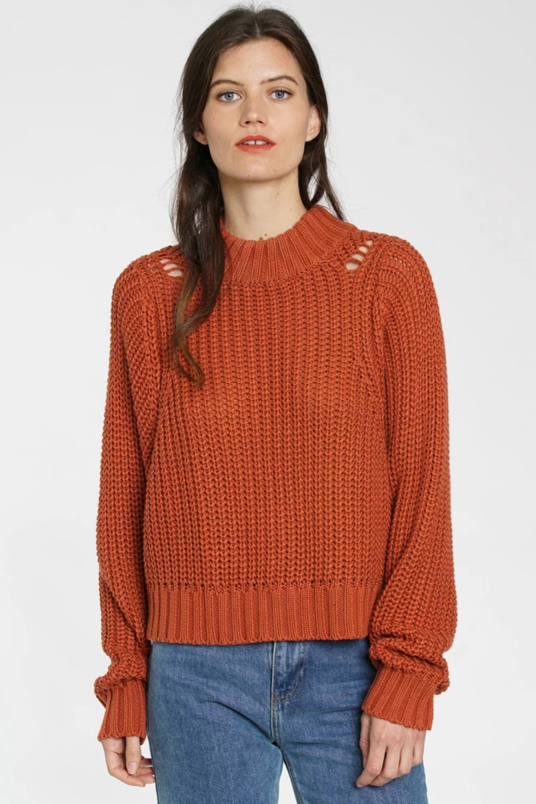 DRA Clothing Eve Sweater - Front Cropped Image