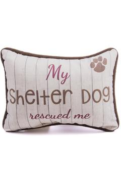 Eve & Nico Dog Throw Pillow - Alternate List Image