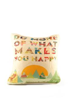 Shoptiques Product: Happy Throw Pillow