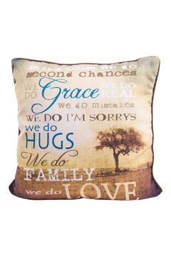 Eve & Nico House Rules Pillow - Alternate List Image