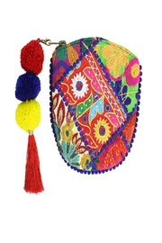 Eve & Nico Kutch Pompom Pouch - Product Mini Image