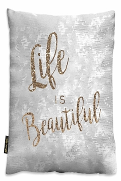 Shoptiques Product: Life Is Beautiful Pillow