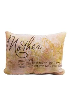 Eve & Nico Mother Throw Pillow - Alternate List Image