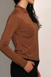 Eve Gravel Sagan Turtleneck - Front full body