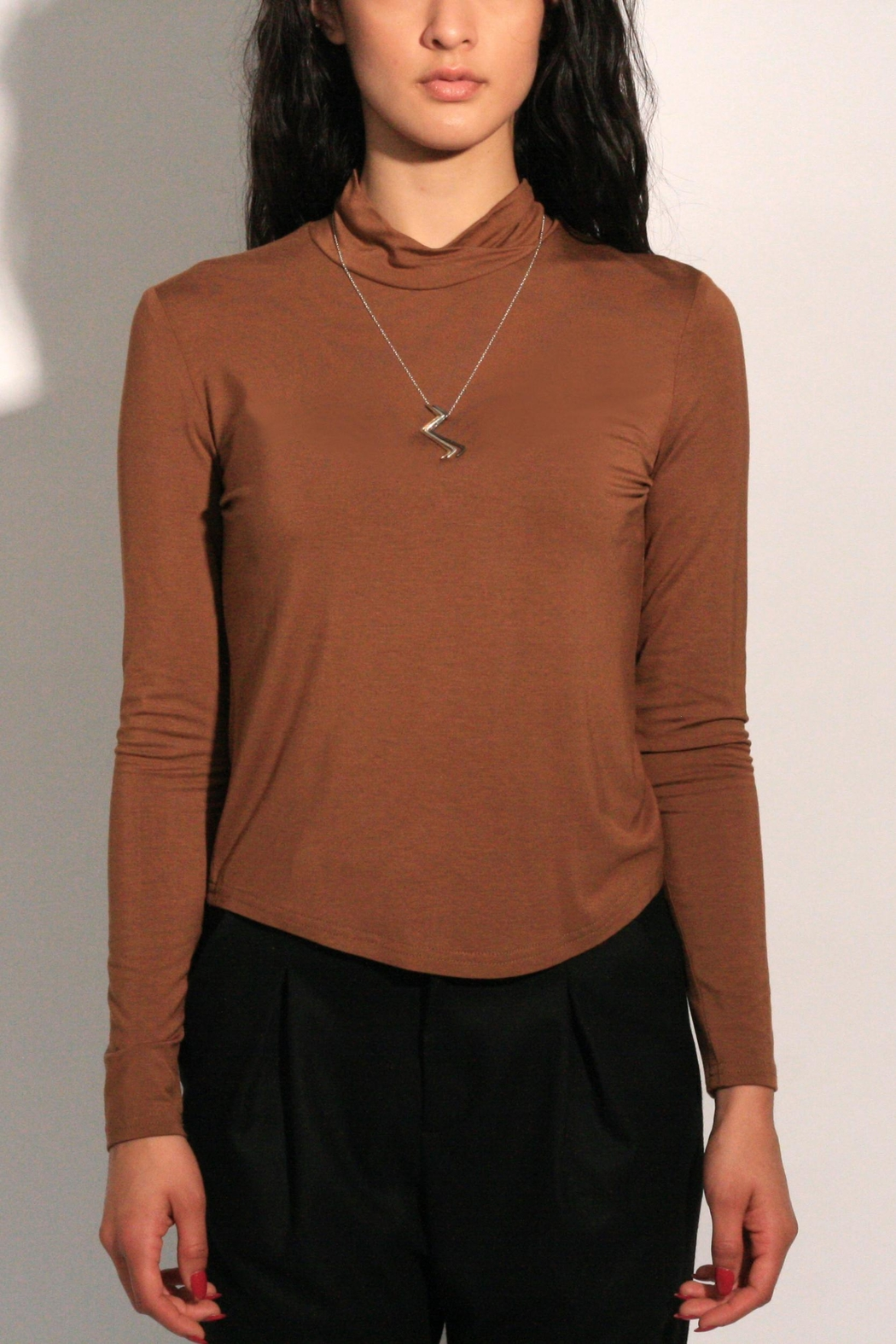 Eve Gravel Sagan Turtleneck - Main Image