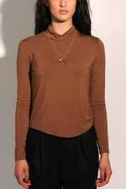 Eve Gravel Sagan Turtleneck - Front cropped