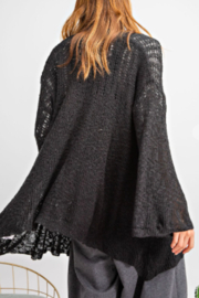 easel  Evelyn Cardigan - Side cropped