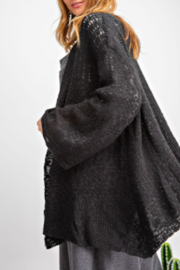 easel  Evelyn Cardigan - Front full body