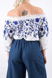Yuki Tokyo Evelyn Embroidered Top - Side cropped