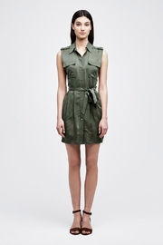L'Agence Evelyn Military Dress - Product Mini Image