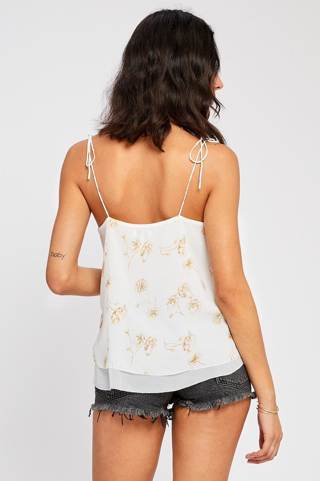 Gentle Fawn Evelyn Tie-Tank - Front Full Image