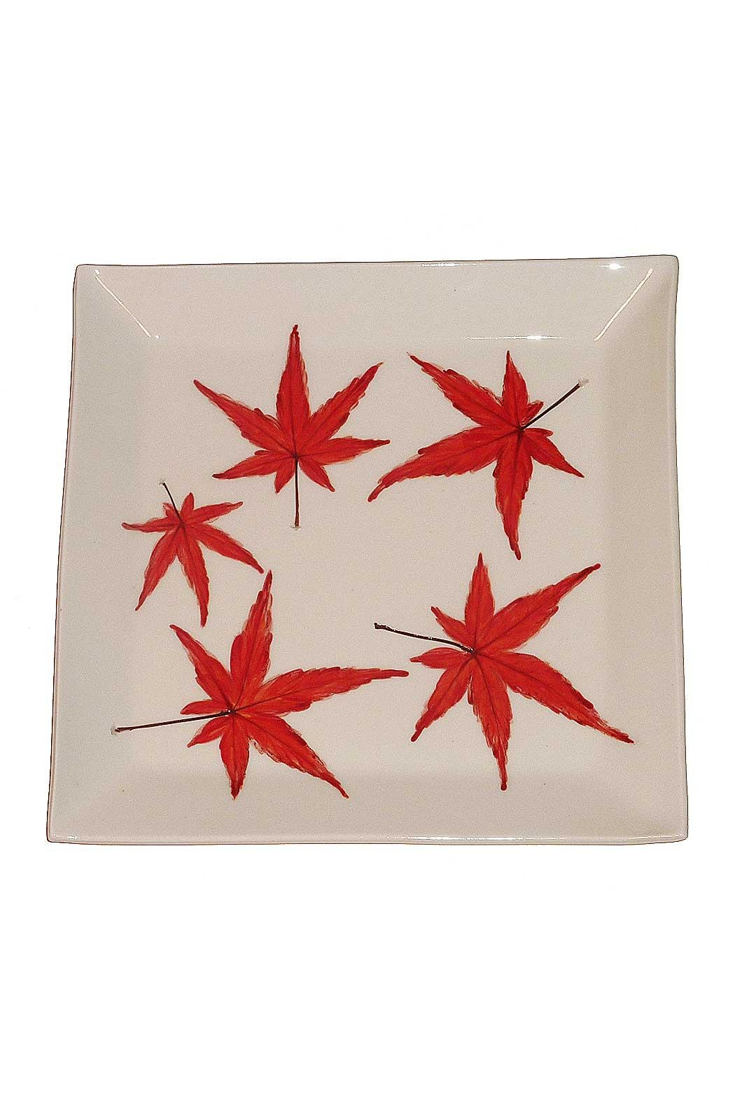 evening star studio Japanese Maple Platter - Front Cropped Image