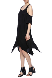 Event Black Cut-Out Dress - Front full body