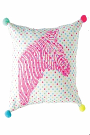 everbloom studio Zebra Decorative Pillow - Product Mini Image
