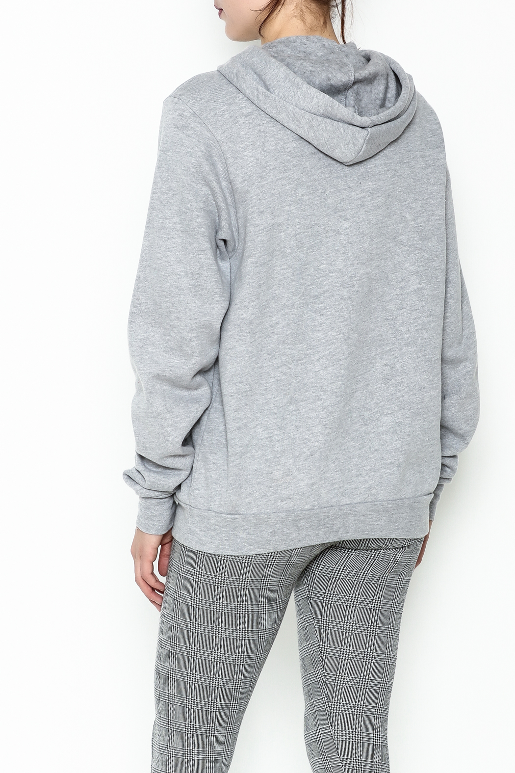 Everfitte The Hustle Hoodie - Back Cropped Image