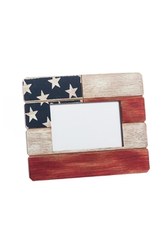 Shoptiques Product: American Flag Frame