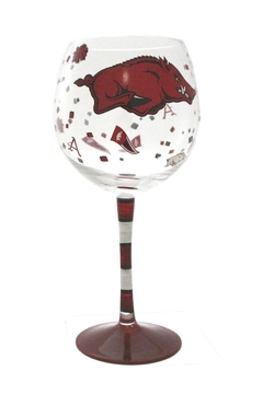 Evergreen Enterprises Arkansas Wine Glass - Alternate List Image