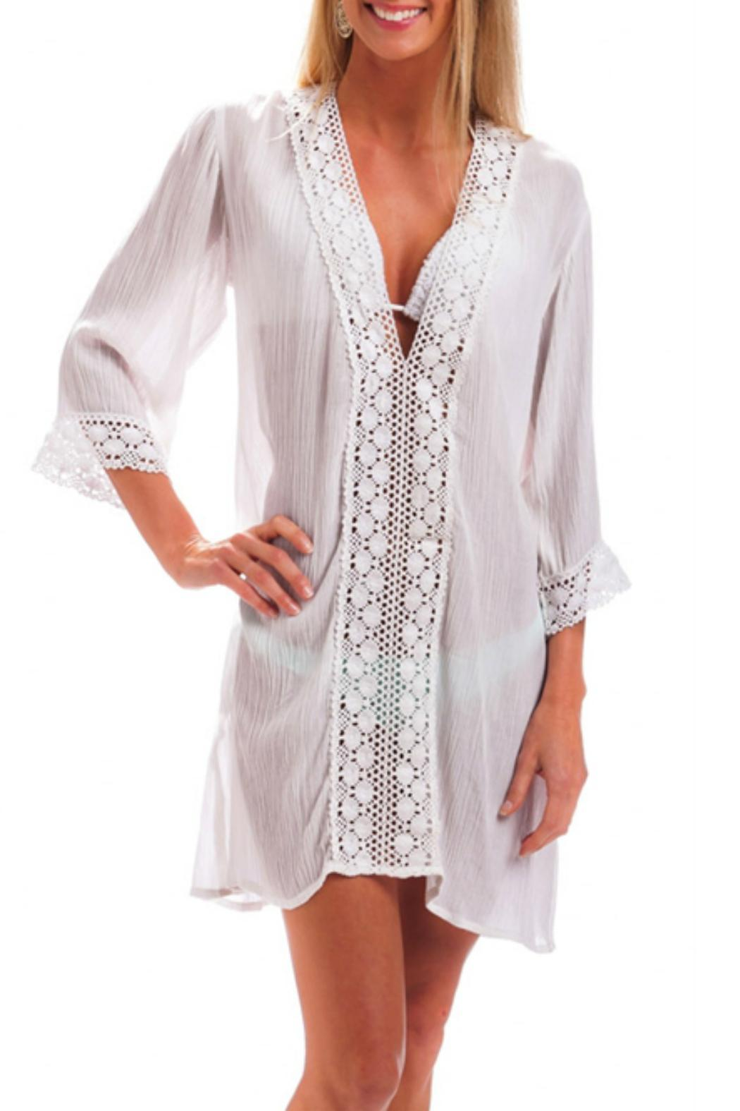 Evergreen Enterprises Beach Cover Up - Front Cropped Image