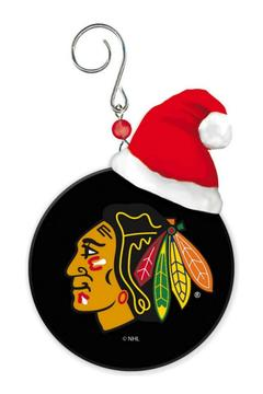 Shoptiques Product: Blackhawks Puck Ornament