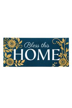 Evergreen Enterprises Bless This Home Mat - Alternate List Image