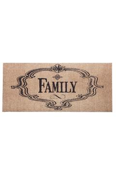 Evergreen Enterprises Burlap Family Mat - Alternate List Image