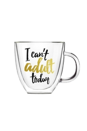 Evergreen Enterprises Can't Adult Today Mug - Front cropped